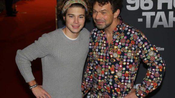 """Ex-""""GZSZ""""-Star Jascha Rust mit seinem Papa Marc."""