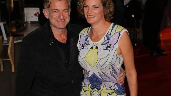 "Ex-""Tatort""-Komissar Dominic Raacke mit seiner Freundin Alexandra Rohleder."