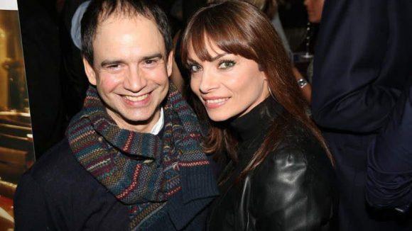 """Sowie Raffaello Kramm (""""GZSZ"""", heute Inhaber von Eye-Love) mit Model Jean Bork."""