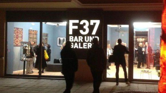 Die Bar und Galerie F37 nahe dem Fasanenplatz.