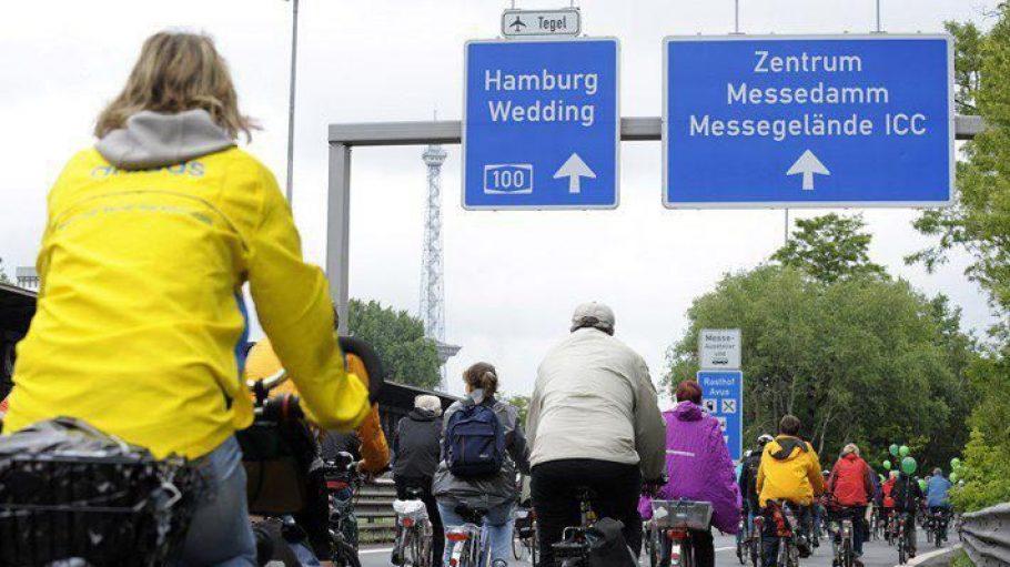 Am 2. Juni heißt es auf der Avus wieder: Radfahrer haben Vorfahrt!