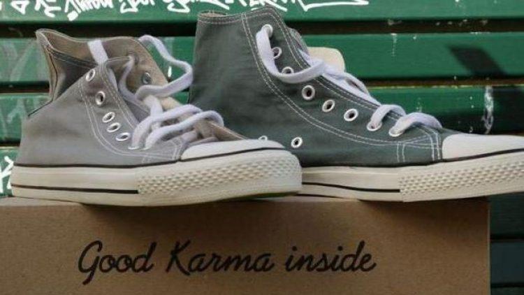 So stylisch können fair und nachhaltig produzierte Schuhe aussehen: Die Karma Classics aus Berlin.