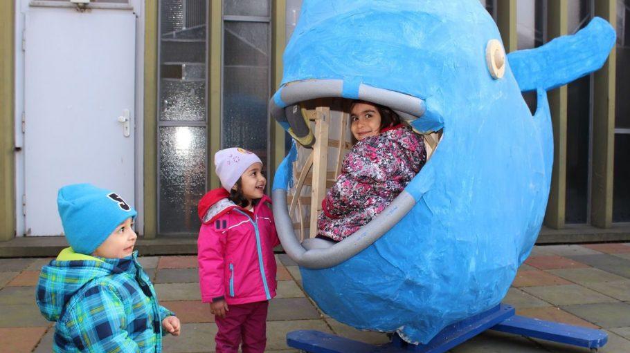 Im Familienzentrum Stresow haben die ganz Kleinen ganz großen Spaß.