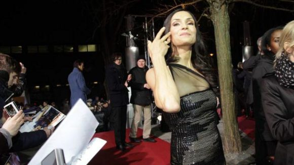 Hollywood-Schauspielerin Famke Janssen ist eigentlich gar nicht so böse ...
