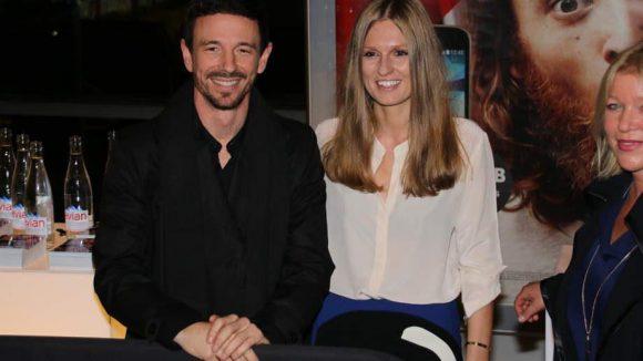 Produzent Oliver Berben besuchte die Premiere mit seiner Verlobten Katrin Kraus.