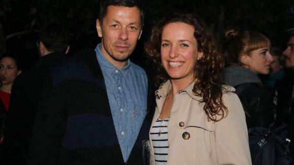 Schauten sich das auch an: Fanta4-Musiker Michi Beck und seine Frau Uli.