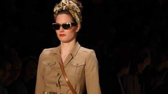 Auf dem Catwalk kam uns dieses Model bekannt vor: Enie?