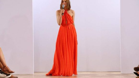 Stylistin Julia Freitag moderierte in Kaviar Gauche.