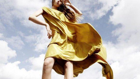 Kleider mit Wow-Effekt gibt es von Michael Sontag.