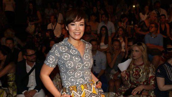 Fesch sah auch Moderatorin Nela Lee aus.