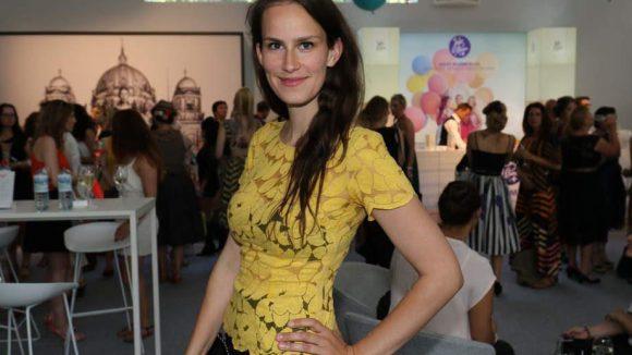 Auch dabei war Schauspielerin und Produzentin Saralisa Volm.