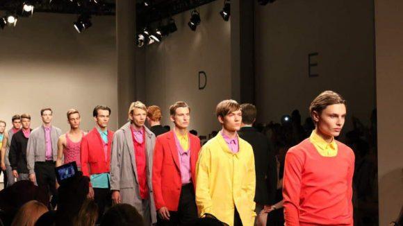 Bei der Show von Ivanman überzeugte nicht nur der Catwalk mit bunten Farben ...