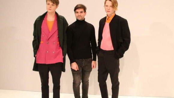Designer Ivan Mandzukic (Mitte) steht hinter dem Ganzen.