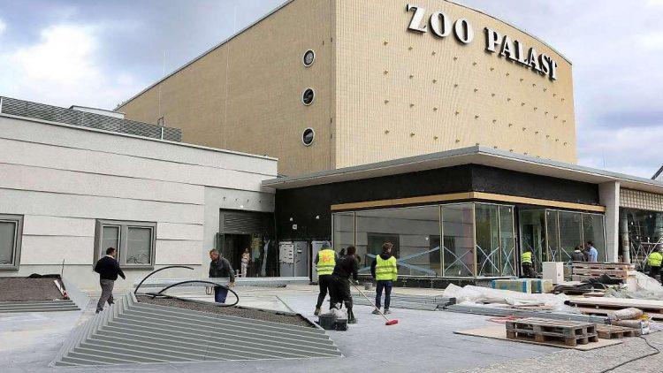 Fast fertig. In wenigen Wochen wird der Zoo-Palast wiedereröffnet.