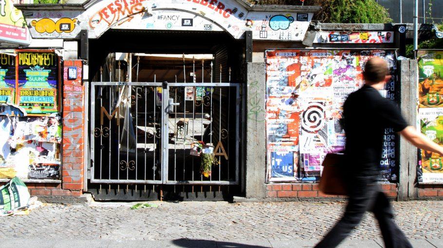 Das Tor des Festsaal Kreuzbergs wird sich an dieser Stelle wohl nie wieder für Besucher öffnen.