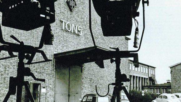 Das Filmatelier der Ufa in Tempelhof