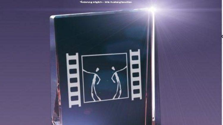 So sieht der begehrte Preis aus. Nach dem Ausfall des 19. Kurzfilmfestivals wird er dieses Jahr wieder an die besten Beiträge aus ganz Europa verliehen.
