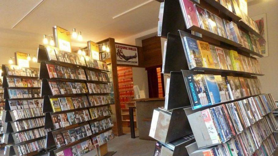 Weniger Platz - genauso viel Auswahl: Die Filmgalerie Berlin.