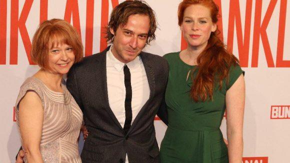 Schauspieler-Trio: Elisabeth Schwarz, Niels-Bruno Schmidt und Henny Reents (v.l.).