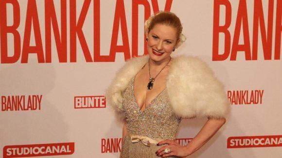 Mit dabei waren darüber hinaus Burlesque-Tänzerin Marlene von Steenvag ...