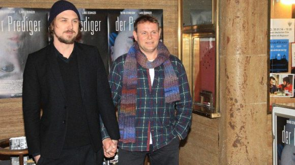 """""""Der Prediger""""-Hauptdarsteller Lars Eidinger (l.) und Devid Striesow: Ein Coming-Out war das wohl nicht ..."""