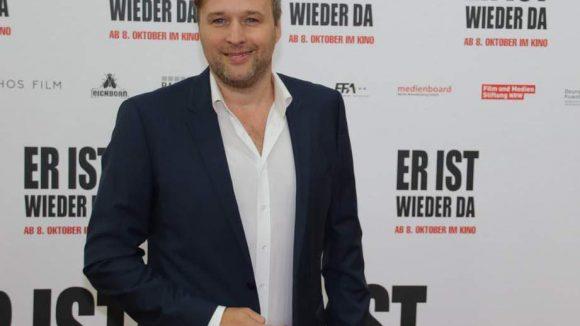 """Und auch er freut sich, auf der Premiere dabei zu sein: Schauspieler Stephan Grossmann (""""Weissensee"""", """"Tatort"""")."""