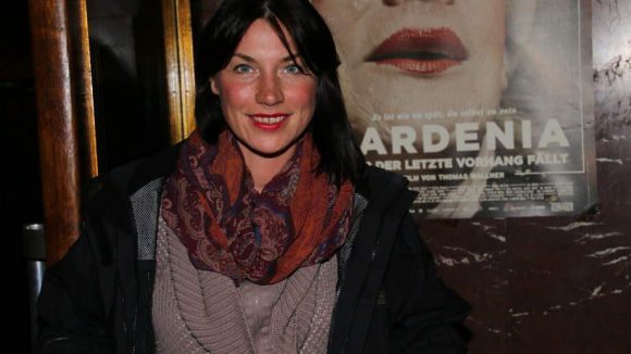 Schauspielerin und Regisseurin Dominique Wolf, unter anderem für ihr Theaterprojekt auf der Cuvry-Brache bekannt.
