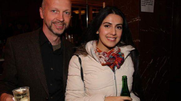 """Zu den Premierengästen gehörten auch Regisseur Veit Helmer (sein Kinderfilm """"Quatsch und die Nasenbärbande"""" startet gerade) und Autorin Sahila Ibrahimova."""