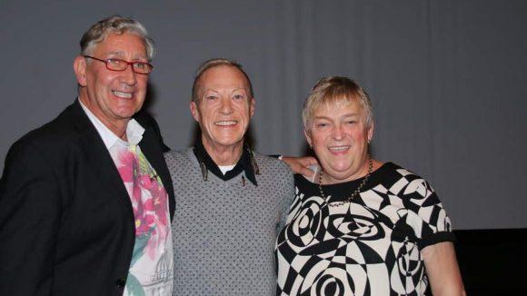 "Die Protagonisten des Films ""Gardenia - Bevor der letzte Vorhang fällt"": Richard Dierick, Andrea de Laet, Gerrit Becker (v.l.)."