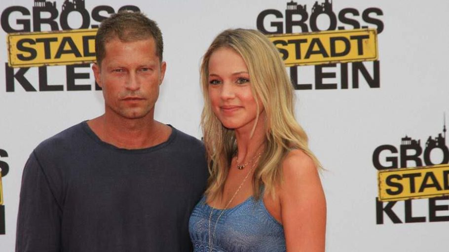 """Til Schweiger, der Produzent von """"Großstadtklein"""", mit Freundin Svenja Holtman."""