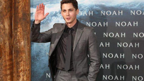 "Ebenfalls im Cast von ""Noah"": Shooting-Star Logan Lerman."