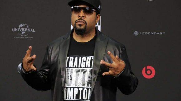 Ice Cube aka O'Shea Jackson war das einzige Mitglied von N.W.A., das zur Europapremiere des Films über die Rap-Combo ins Cinestar Sony Center kam.