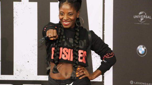 ... und Tänzerin Nikeata Thompson.