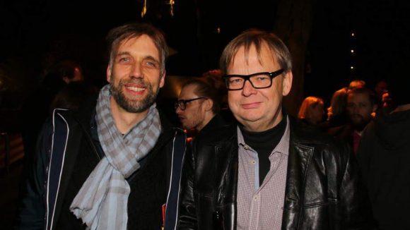 sowie Harald Polzin (l.) und Fritz Roth.