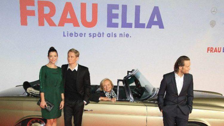 Die Hauptdarsteller: Anna Bederke, Matthias Schweighöfer, Ruth Maria Kubitschek und August Diehl (v.l.).