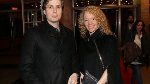 """Bei der Premiere dabei waren auch Daniel Kehlmann (""""Die Vermessung der Welt"""") mit Freundin Anna ..."""