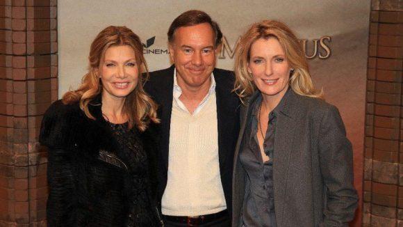 Der Produzent des Films Nico Hoffmann brachte gleich zwei Damen mit: TV-Schauspielerin Ursula Karven (l.) und Tatort-Star Maria Furtwängler.