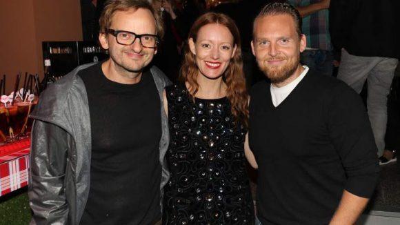"""Für Milan Peschels (links) Kurzfilm """"The Night"""" standen unter anderem seine Schauspielkollegen Lavinia Wilson und Axel Stein vor der Kamera."""