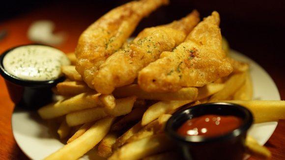 Der England-Klassiker schlechthin: Fish & Chips.