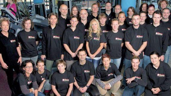Das Team von Fitness am Park.