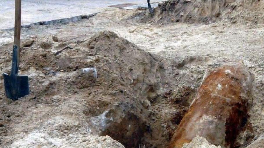 Eine 500-Kilo-Bombe wie diese wurde gestern in Biesdorf gefunden und soll heute zwischen 11 und 12 Uhr entschärft werden.