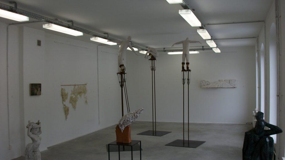 """Die Räume der Ausstellung """"AKTionale-Das Nackte Sein""""."""