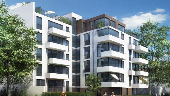 So soll das neue Wohnprojekt, der Florahof, mal aussehen.