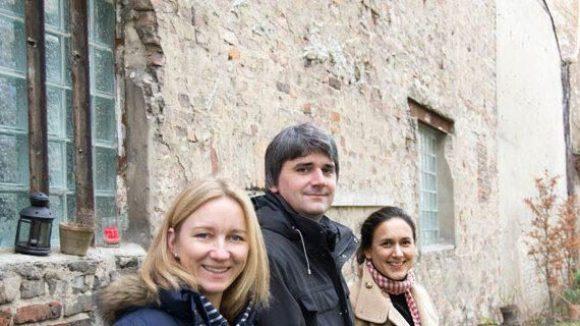 Die Macher des Blogs: Cathrin Bonhoff, Hanno Hall und Natalie Tenberg (v.l.n.r.)