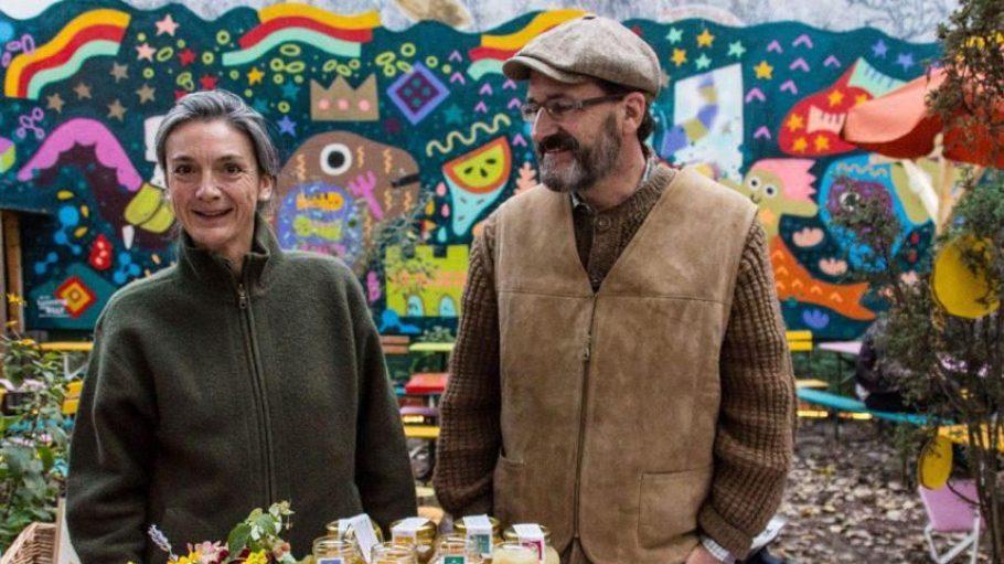 Nur eine regionale Spezialität: Honig aus dem Kiez. Wie alle anderen Erzeuger zahlen sie für ihren Stand auf einer Food Assembly keine Anmeldegebühr.