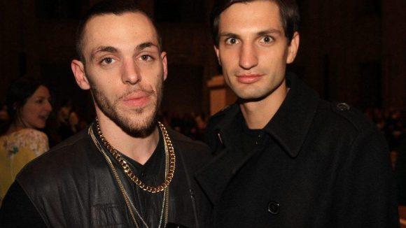 Auch die Fotografen Maxime Ballesteros (rechts) und Max von Gumppenberg waren vor Ort.