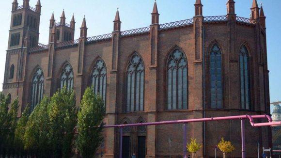 Akut gefährdet: Die Friedrichswerdersche Kirche in Berlins Mitte.