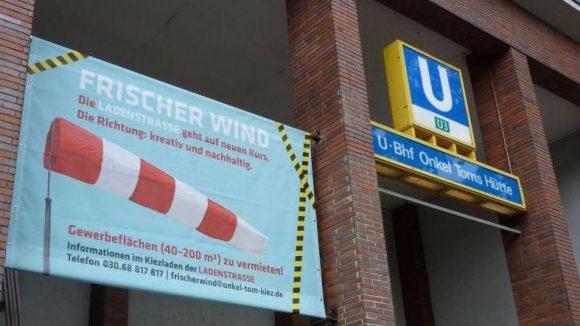 Die alte Ladenstraße zu einem neuen Anziehungspunkt für Anwohner und Besucher zu machen: Das ist das Ziel der Frischen-Wind-Kampagne.