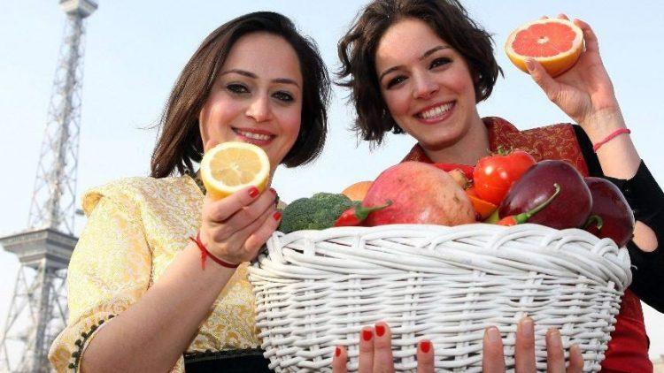 Obst und Gemüse aus aller Welt wird bis zum 8. Februar in den Messehallen am Funkturm präsentiert.