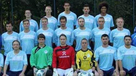 Spieler der ersten Herrenmannschaft des VFB Einheit zu Pankow in der Saisaon 2011/12